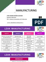 Lean Manufacturing - Modulo i