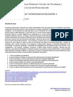 Estudio de Caso - Políticas y Estrategias en Educación II