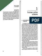 Cap 3 y 4  - Funciones y Graficas  (Azcarate y Deulofeu)