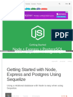 Scotch Io Tutorials Getting Started With Node Express and Po