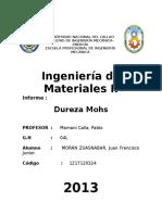 Ensayo de Contraccion (Laboratorio de Maetriales 2 Lab. 4)