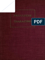 (1935) Privileged Characters