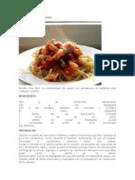 Camarones Spaguetti