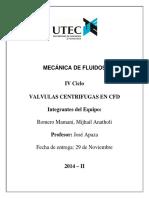 MECÁNICA DE FLUIDOS informe N°6