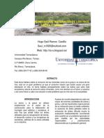 Extraccion de Recursos Naturales de los Rios
