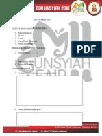 Buku Panduan Unsyiah Fair Awards 2016 2