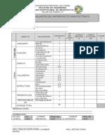 Matriz Para Evaluar El Anteroyecto Arquitectónico