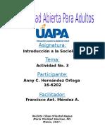 Sociologia Tarea III
