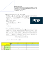 Técnicas e Instrumentos de Recolección de Datos ASPECTOS Administrativos