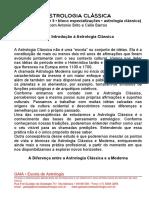 ASTROLOGIA CLÁSSICA 2000