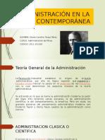 Administración en La Edad Contemporánea