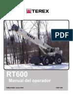 Manual Operador RT600