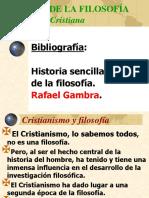 Filosofía Cristiana (La Patrística)