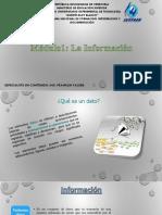 Moduo 1 La Informacion