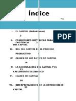 El Capital en El Proceso Productiva