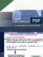 4 Conflicto de Leyes - Calificacion