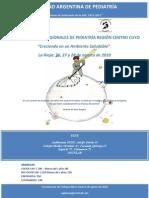 Programa Jornadas Centro Cuyo