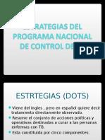 Estrategias Del Programa Nacional de Control de Tb