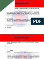 Plan de Sana Convivencia Democratica 2017 - Bruning,
