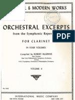 Solos Orquesta Clarinete Book 2 IMC