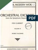 Solos Orquesta Clarinete Book 3 IMC