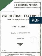 Solos Orquesta Clarinete Book 7 IMC