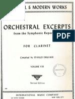 Solos Orquesta Clarinete Book 8 IMC
