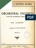 Solos Orquesta Clarinete Book 6 IMC
