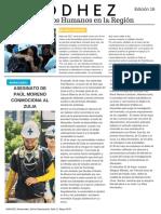 Boletín Codhez - Mayo 2017