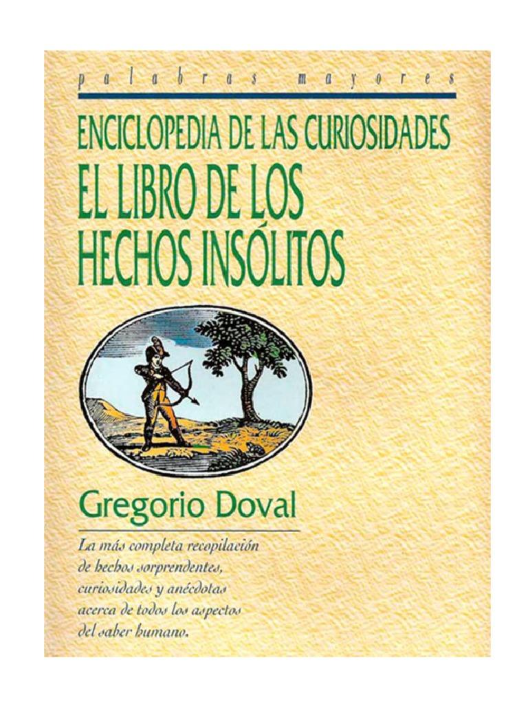 Libro Hechos Los Insólitos De pdf El gqpxH8wq