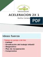 ACELERACION 2X 1