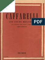 (Estudio) (Trompeta) Caffarelli - 100 Estudi Melodici - Trumpet Studies (2).pdf