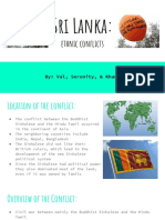 sri lanka- ethnic conflicts