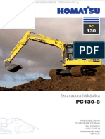 Catalogo Excavadora Pc130 8 Komatsu