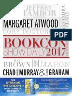 BookCon Show Daily June 3, 2017