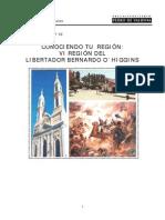 M.A VI del libertador bernardo Bernardo O´Higgins