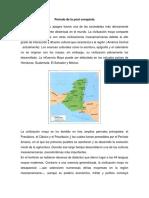 Periodo de La Post Conquista
