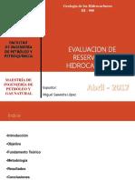 Exposicion Evaluacion de Reservas