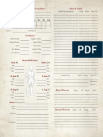 UESRPG 3e - Character Sheet v2
