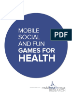 Mobile Social and Fun Games for Health