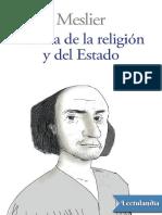 Crítica de La Religión y Del Estado - Jean Meslier