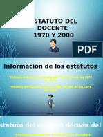 DIFERENCIA ESTATUTO DEL DOCENTE 2277 (1979) Y 1278 (2002)