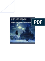 Shostakovich Music for Viola and Piano cover disk