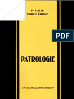 (Pr. Prof. Dr. Ioan G. Coman) Patrologie