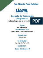 Unidad IV Metodologia de La Investigacion II Juan Daniel L.H
