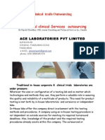 Clinical Trail- Ace Laboratories