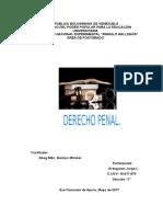 Nociones Generales de Derecho Penal