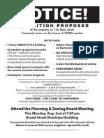 Notice of 080210 Meeting
