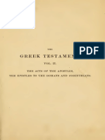 The Greek Testament Vol 2