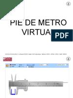 Pie de Metro Virtual